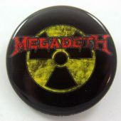 Megadeth - 'Nuclear Logo' 32mm Badge